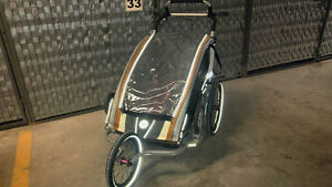 ***CHARIOT CX2 DOUBLE STROLLER/JOGGER/TRAILLER + BUNTING BAGS***