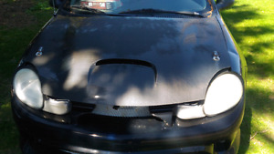 Carbon fibre hood for 2000-2005 Dodge Neon