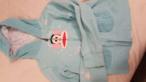 paul frank girl size L hoodie sweater