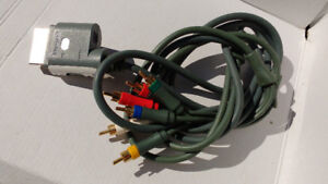 xbox360 audio video cable or best offer