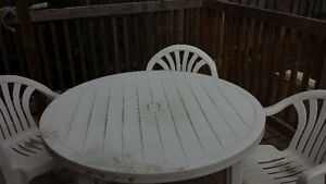 Free Patio Set