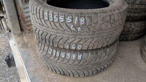 Pair of 2 GTRadial Champiro IcePro SUV 235/55R18 WINTER tires (6