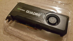 Nvidia Quadro K5000 4GB GPU - Great Condition $350 OBO