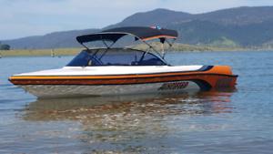 Custom ski boat Protege