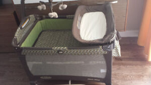Crib GRACO Pack n'play (Pierrefonds/5146613202 message)