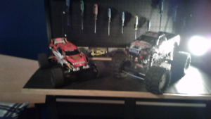 Traxxas rusler vxl redcat ground pounder a vendre
