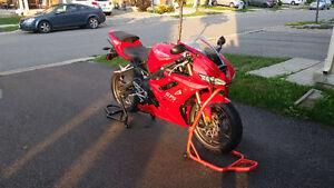 2010 Triumph Daytona 675 & A Pregnant Wife - Bike's Got To Go