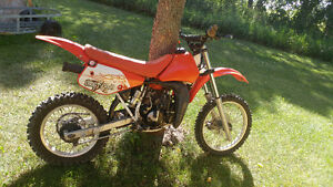 Honda cr80 dirt bike