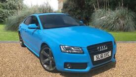 Audi A5 2.0 ( 211ps ) 4X4 S Tronic 2011MY quattro Black Edition FINISHED IN BLUE