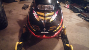 Sled for trade.