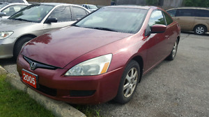 2005 Honda Accord EX Coupe Sport.