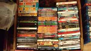 Kids movies, Anime DVDs and box sets (Blu-Rays in other ads)