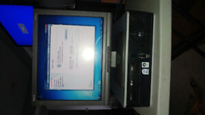 HP computer system complete set up only $75 obo