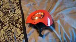 Cars kids bike helmet