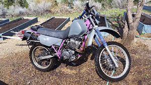1995 Yamaha XT350 enduro STREET LEGAL