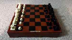 Michael Graves chess and checker board/set