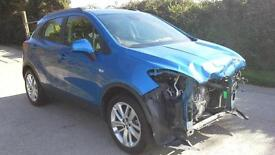 Vauxhall Mokka 1.6i ( s/s ) 2016 Exclusiv DAMAGED SPARES OR REPAIR SALVAGE