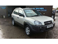 2007 57 Hyundai Tucson 2.0 CRTD GSi 2WD AUTOMATIC,ONLY 51000 MILES WITH FSH
