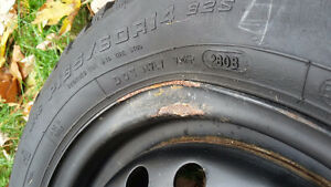 "14"" winter tires West Island Greater Montréal image 5"