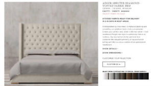 Restoration Hardware Adler King Bed