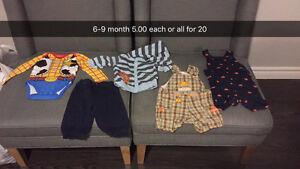 Boys clothing sizes newborn to 4T London Ontario image 1