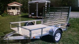 2016 aluminum atv utv side by side trailer 4x8 $1999!!!