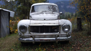 Volvo PV 544 and 142s
