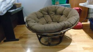 Wicker dome chair