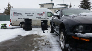 TIRES CHANGE, BALANCE MOBILE SERVICES AT YOUR PLACE