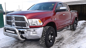 2012 Dodge Power Ram 2500 Laramie Pickup Truck 4x4 Red