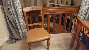Comfy wood dining chairs