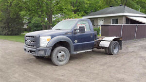 2011 Ford F550 Super Duty 4x4 Utility Truck