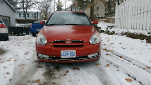 2010 5 speed Hyundai Accent