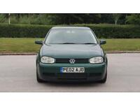 2002 Volkswagen Golf 1.9 TDI PD GT 5dr