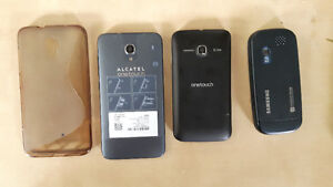 Alcatel one touch et Samsung