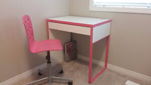 IKEA GIRLS STUDY DESK AND CHAIR