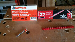 RAMSET Cartridges and Fasteners