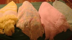 New Hand Knitted Baby Blankets