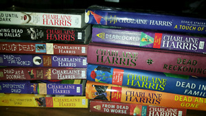 True Blood - Charlaine Harris - the entire collection