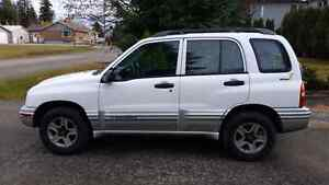 2002 CHEVY TRACKER FOR SALE Prince George British Columbia image 1