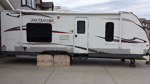 2013 Jayco travel trailer 24T Jay Feather
