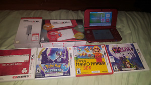 """Brand new """"new"""" 3ds with games"""