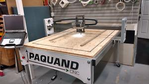 (CNC) Router Toupie Spindle Table coupe & sculpture numérique