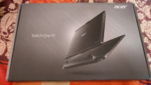 Excellent condition acer switch one 10