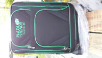 Brand new never used Rough Riders carry on luggage with spinner