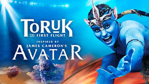 Cirque Toruk tickets for Sunday either show