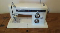 Kenmore Zig-Zag Sewing Machine, Chair & 2-Drawer Sewing Cabinet