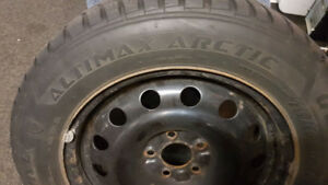 Winter Tires and Rims 215 60 16
