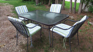 11 piece outdoor patio set in great shape