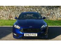 2017 Ford Focus 1.0 EcoBoost 125 ST-Line 5dr Manual Petrol Hatchback